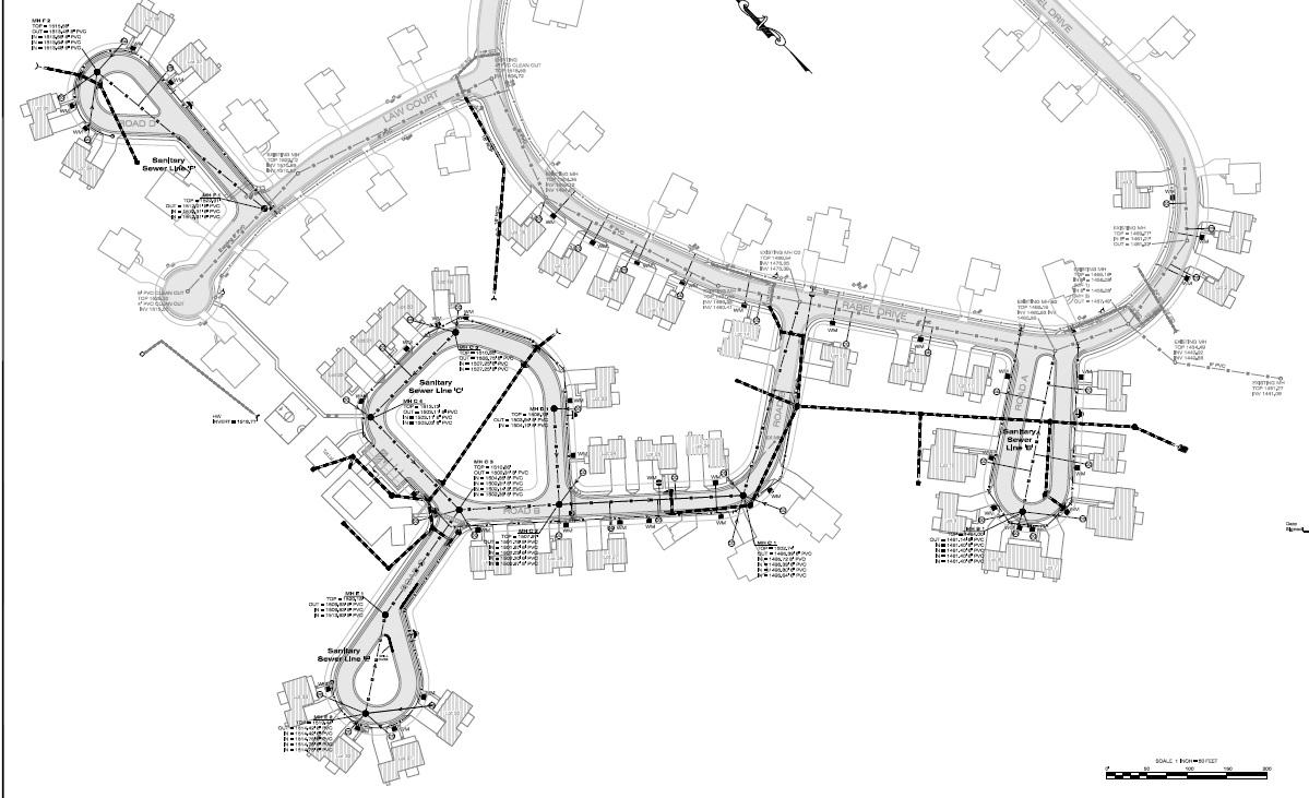 Final AsBuilt for Site Plans Land Development Professionals LLC – Site Plan Survey