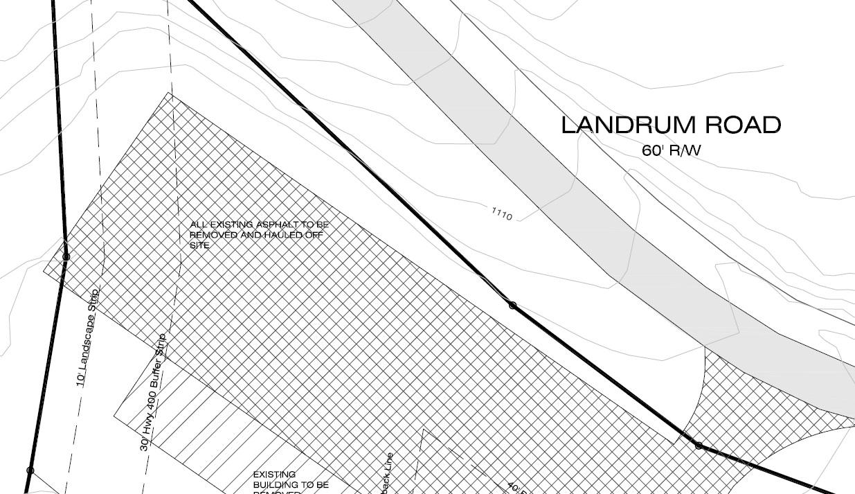 Demolition Plan Survey Land Development Professionals LLC – Site Plan Survey